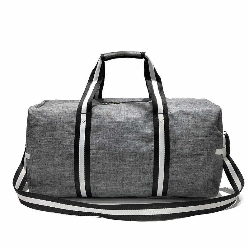 0c38956e6f Canvas Travel Bag Men Large Capacity Luggage Bag Waterproof women Suitcases  Handbag Overnight Weekend Duffle Bag