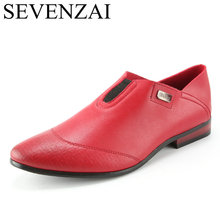 men shoes luxury brand male footwear 2016 slip on formal fashion pointed ballet flats red moccasin oxford dress shoes for men