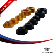 PQY RACING Free shipping- Solid Differential Mount Bushings For Nissan S14 S15 Drift Race PQY-DMB01(China)