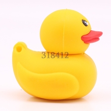 Yellow Duck U Disk pen drive cartoon 4gb/8gb/16gb/32gb/64gb bulk duck usb flash drive flash memory stick pendrive mini gift