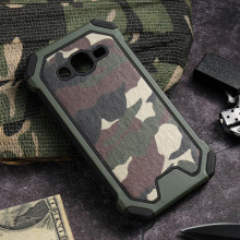 Cases For Samsung Galaxy J2 2013 J200Y J200GU J200F J200H J200G J200M J200FN cases cover Army Armo Camouflage Shockproof tpu p