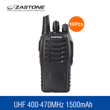 10 pcs/lot Baofeng 888S Max 5W Ham Radio 16 Ch UHF 400-470NHZ Handheld Two way Radio bf-888s walkie talkie radio transceiver(China)