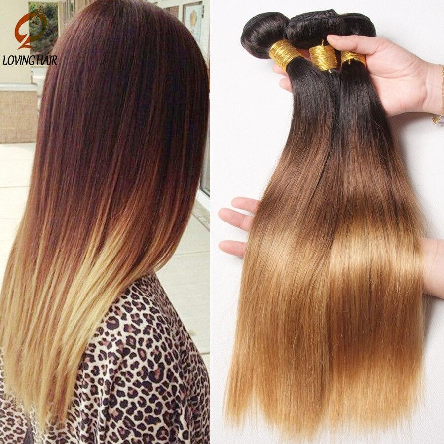 4 Bundles Straight Human Hair Weave Rosa Malaysian Virgin Hair T1b/4/27 Annabelle Malaysian Straight Virgin Hair <br><br>Aliexpress