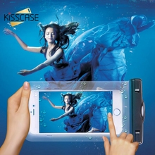 KISSCASE Waterproof Bag Pouch Cases For Samsung J1 J5 J3 S7 S6 Edge Huawei P8 P9 Lite Honor 8 Lumia 640 Phone Underwater Diving