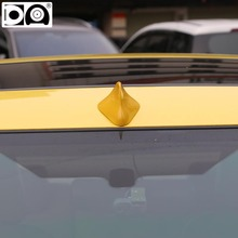 Front shark fin antenna special car radio aerials auto antenna signal PET-S cable Piano paint ABS plastic for Renault Symbol(China)