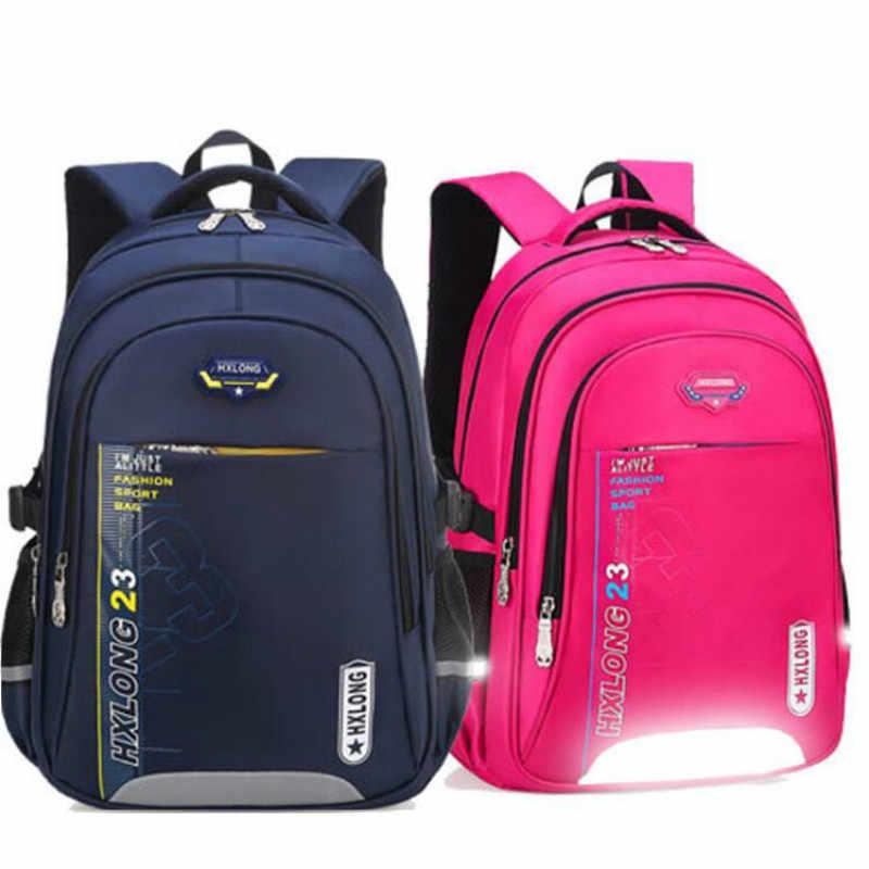 8a055e6e3b73 Детские Школьные Сумки Начальная школа сумка Mochila водостойкий  ортопедический Детский рюкзак для книг мальчики и девочки