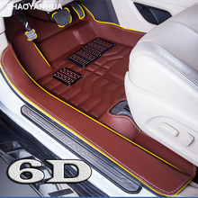 ZHAOYANHUA	Custom car floor mats made for Toyota Land Cruiser 200 Highlander Camry Prado RAV4 car styling carpet liners