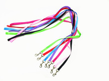 Strong Nylon Dog Pet Lead Leash with Clip for Collar Harness -Black,Red,Blue,Green,Pink,Purple and Rose