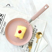 Justcook 20/24/28 CM Frying Pan Non-Stick Pans No Oil-smoke General Use for Gas and Induction Cooker Pancake Maker Cooking Tools(China)