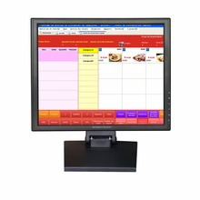 17  inch LED Touchscreen Monitor  Computer Monitor with USB Touch Screen panel for Restaurant Equipment/Pos System