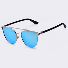 2018 Retro Quality Brand Original Sunglasses Men Polarized Lens Vintage Eyewear Accessories Gold Sun Glasses Oculos For Men(China)