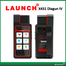 2017 New automotive diagnostic scanner launch x431 diagun iv 2 year free update code scanner launch x-431 diagun 4 free DHL