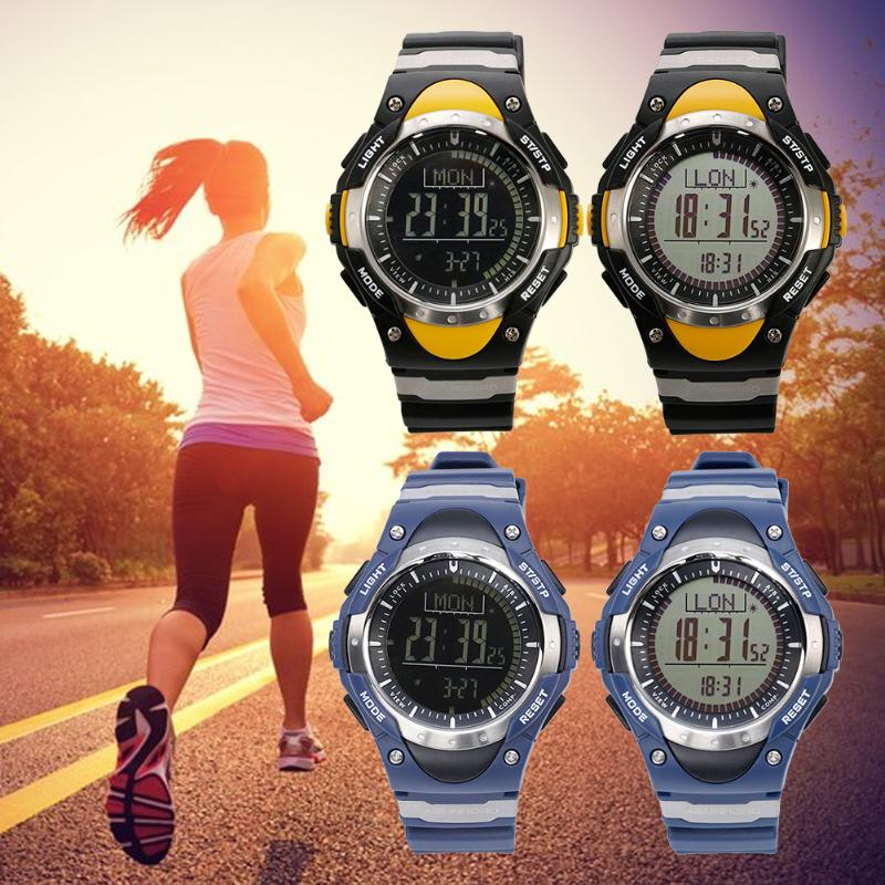 Men Digital Watches Waterproof Outdoor watch Clock Fishing Altimeter Barometer Thermometer Altitude Climbing Hiking Sports Hours<br>