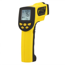 HoldPeak Digital laser Infrared IR Thermometer Gun Non-contact -50~1300C(-58~2372F) Temperature Tester Pyrometer W/ LCD Backligh(China)