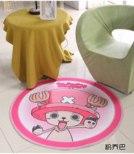 Pink Cat Round Mat 60/80/100/120/160CM alfombras dormitorio Carpet Living Room Deurmat rugs Swivel chair Mats tapis chambre