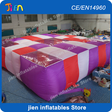 free shipping to door!9*9*2m inflatable maze obstacle course inflatable bouncy maze, inflatable laser tag(China)