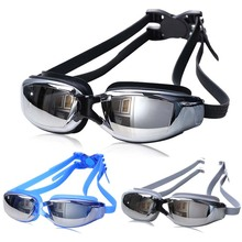 Hot Sale Swimming Goggles Men Women Anti-fog UV Protection Swimming Goggles Waterproof Silicone Water Glasses Adult Eyewear