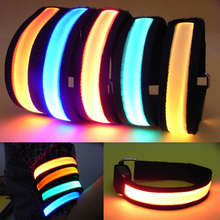2PCS New Arrival Big Sale Portable MTB Bike Bicycle Arm Led Light Outdoor Night Cycling Running Party sport Warning Glowing Band(China)