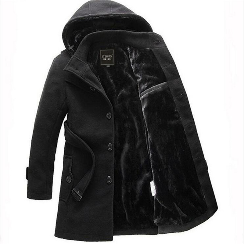 Online Get Cheap Men Hooded Pea Coat -Aliexpress.com | Alibaba Group