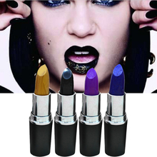 Vampire Beauty Cosplay Matte Lipstick Makeup Long Lasting Liquid Lip Gloss Ladies Moist Beewax Lipstick Matte Lipstick M03256(China)