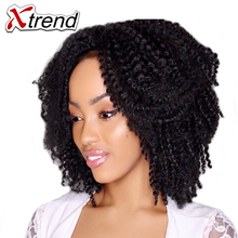 Xtrend Synthetic Jamaican Bounce Marlibob Afro Curly Twist Crochet Braid Hair 8inch Ombre Kanekalon Hair Extensions 3Pieces/Lot