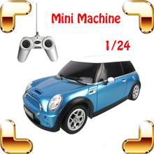 New Year Gift 1/24 Cute RC Mini Sedan Car Radio Control Toys Model Drift Electric Machine Boys Car Tiny Classic Present