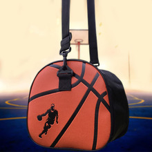 Waterproof Sport Soccer Ball Bags PU Leather Black Basketball Shoulder Bag Handbag Football Volleyball Carry Storage Gym Bag(China)