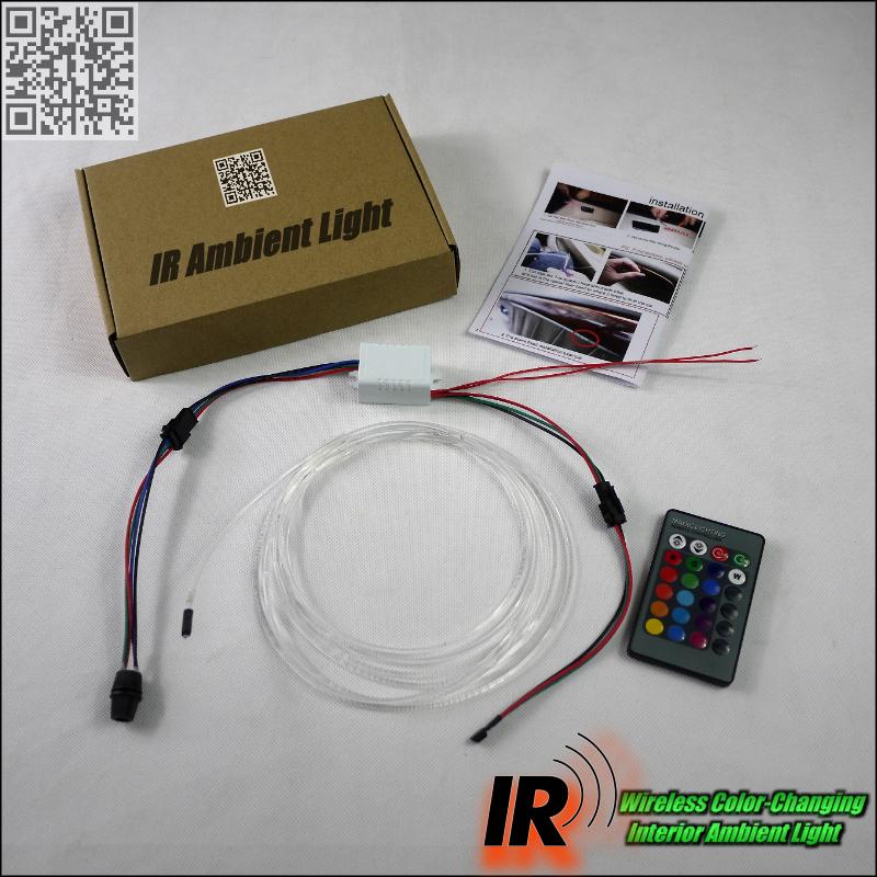 Wireless IR Control NOVOVISU Car Interior Ambient Instrument Panel Dashboard Light For Volvo V60 V50 XC60 XC90 XC70 V90 For ZAZ package