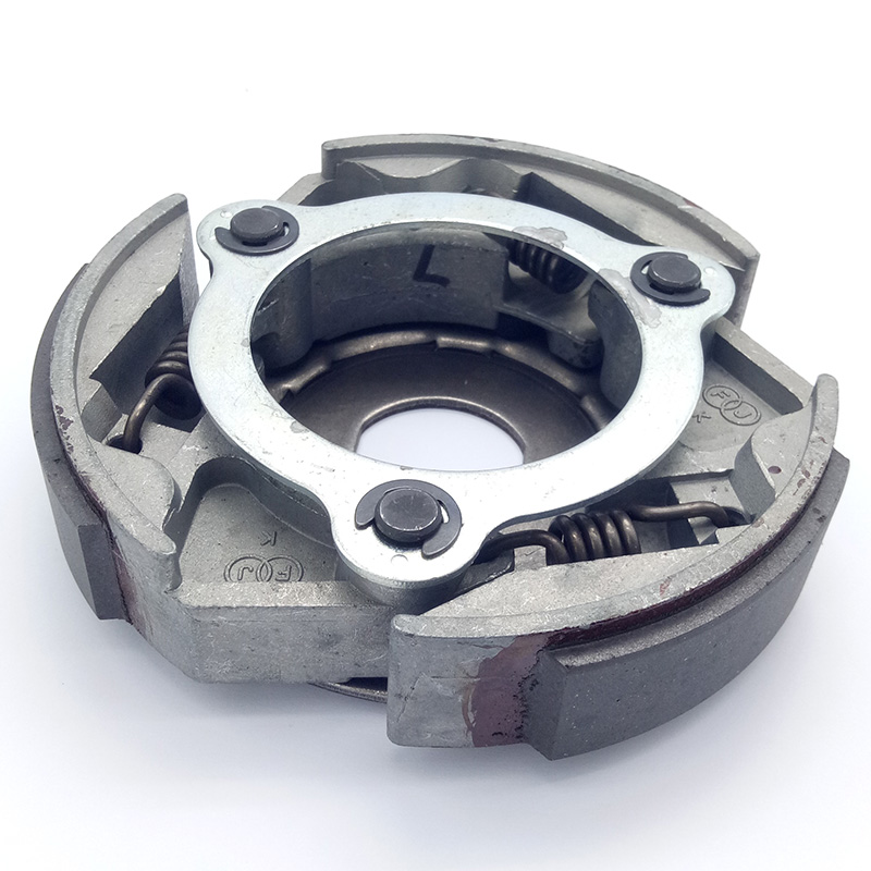 Clutch Assembly,Clutch Driven Pully Rear Assembly Fit for LINHAI 260cc 250 300cc Scooter Go Kart ATV 16T Spline
