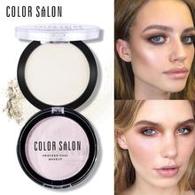 Color Salon Highlighter Powder 5.8g Natural Face Makeup Contour Brighten Brand Make Up Illuminator Glow Kit Shimmer Cosmetic(China)