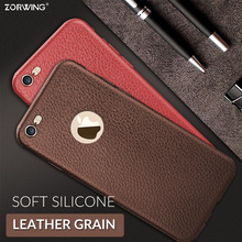 Buy Leather Texture Phone Case iPhone X 8 7 Plus 7Plus Case Silicone Soft 360 Full Cover iPhone 6 S 6S Plus 6Plus Coque for $1.25 in AliExpress store
