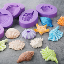Sea Shell Shape Silicone Cake Mold,Kitchen Baking Mold For Chocolate Pastry Candy ,Dining Fondant Decorating Tools Accessories