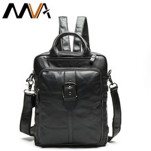 799c2b2bf4 MVA Genuine Leather Men Backpacks School Bag for Teenager Boys Travel Laptop  Backpack Mochila Men s Shoulder Bag Male Backpacks