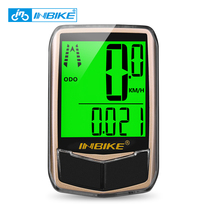 INBIKE Bike Computer Waterproof Backlight Bicycle Computer Digital Speedometer Cycling Odometer Sensor Counter Accessories IC766