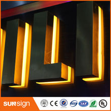 Aliexpress supplier waterproof LED backlit lettersoutdoor illuminated signs(China)
