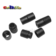 100pcs Pack Black Plastic Buckles Breakaway Safety Pop Barrel Connector Clasp Necklace Paracord&Ribbon Lanyards#FLC090-B