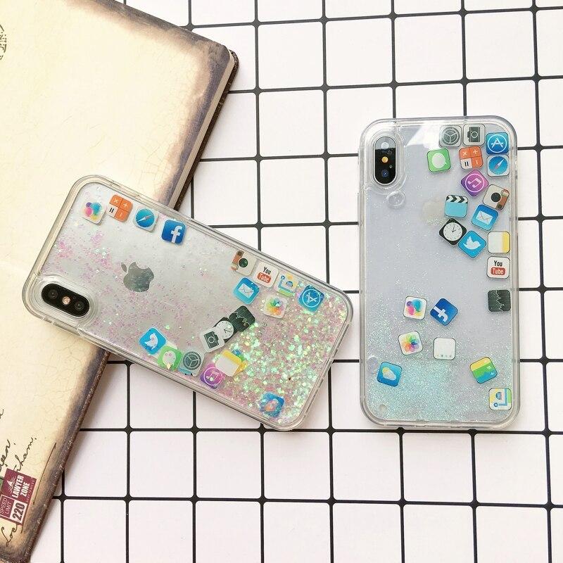Icon Liquid Silicon Cover iPhone 6/6s