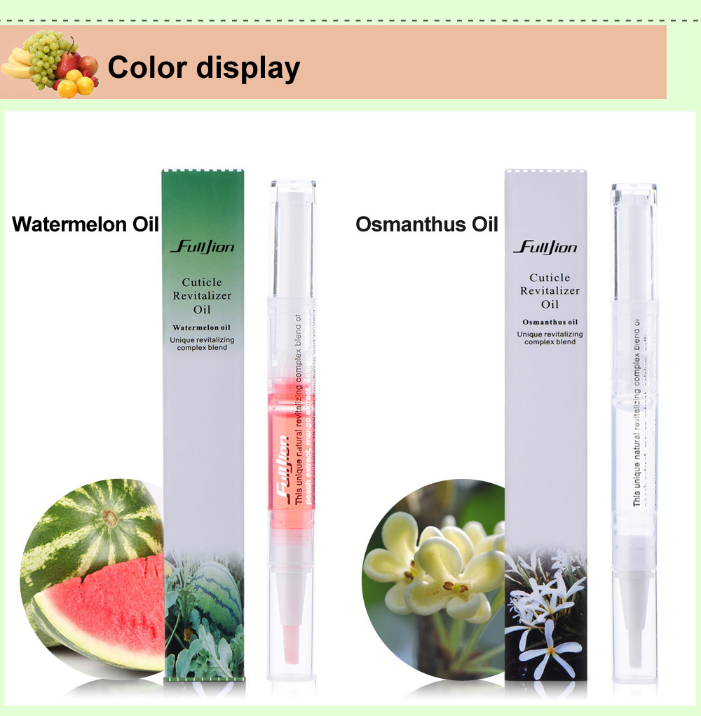 Fulljion Skin Defender Everything For Manicure Cuticle Oil Revitalizer Oil Pen Nail Art Treatment Nutritious Polish Nail Care 11