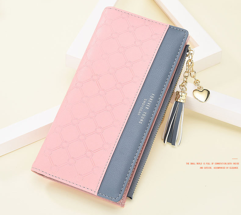 2018 Fashion Ladies Wallet Female Short Zipper Coin Purse Small Wallets Young Womens Tassel Hasp Purses Button Card Holder Pouch 87