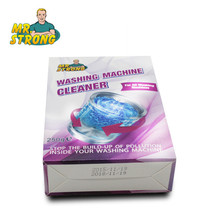 3Box/lot Mr.Strong Hot Sale Washing Machine Cleaner Household Appliance Cleaning Powder Shape Washing Machine Tank Cleaning