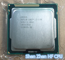 Intel Core i3 2100 Processor 3.1GHz 3MB Cache Dual Core Socket 1155 Qual Core /Desktop(China)