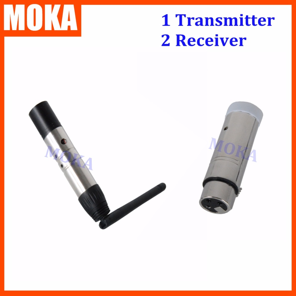 3 Pcs/lot DMX512 Controller Instead Wireless DMX512 Receiver Transmitter DMX Kit Fast transfer High Effective GFSK Receiver<br>
