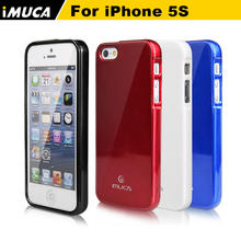IMUCA durable soft tpu silicone case For iPhone5 Cover for iPhone 5s SE 6C 5SE Phone Cases Back Cover Phone Accessories(China)