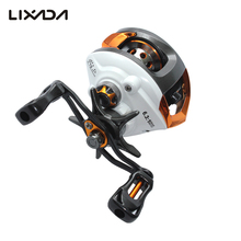 Lixada 12+1 Ball Bearings Right/Left Hand Baitcasting Reel Fishing Fly High Speed Fishing Reel with Magnetic Brake System