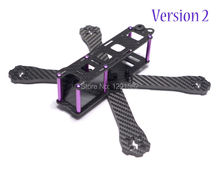 DIY mini drone FPV QAV-R 180mm 180 / 220mm 220 / 260mm 260 Carbon fiber frame with purple screws nut spacer racing quadcopter