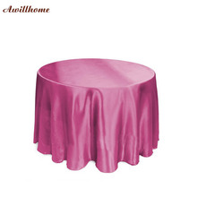 free shipping 108in. table cloth weddings party decorations(China)