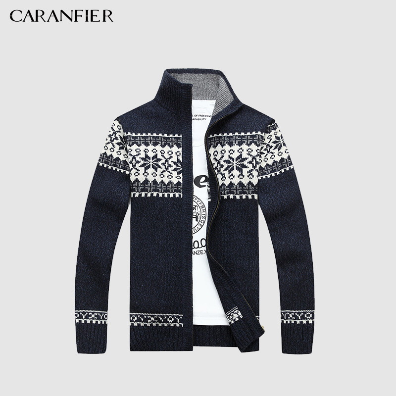 Plus Size 3xl 2018 Autumn Mens Knitted Cardigan Sweaters V Neck Long