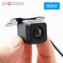 XCGaoon Universal mini Car Rear View Camera Real Waterproof 140 degree Wide Angle, Installation Angle Can be Adjusted(China)