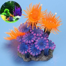 High Quality Artificial Grass Aquarium Decor Water Weeds Ornament Plant Fish Tank Decorations & Ornaments(China)