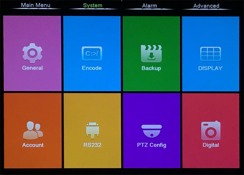 XMeye Hisilicon Chip H264+ 16CH 8CH 4MP Full HD 5 in 1 Hybrid Coaxial WIFI ONVIF TVi CVI IP NVR AHD CCTV DVR menu picture 03